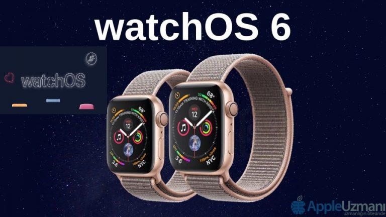 watchOS 6 Varsayılan Uygulamaları Silme
