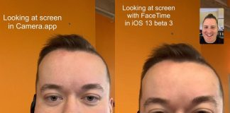 iOS 13 FaceTime