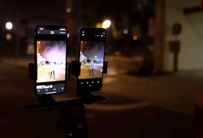 iPhone 11 gece modu