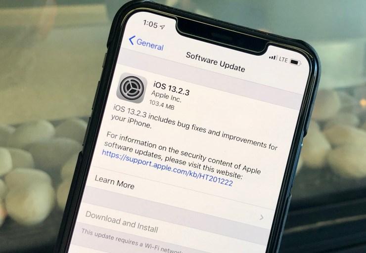 iOS 13.2.3