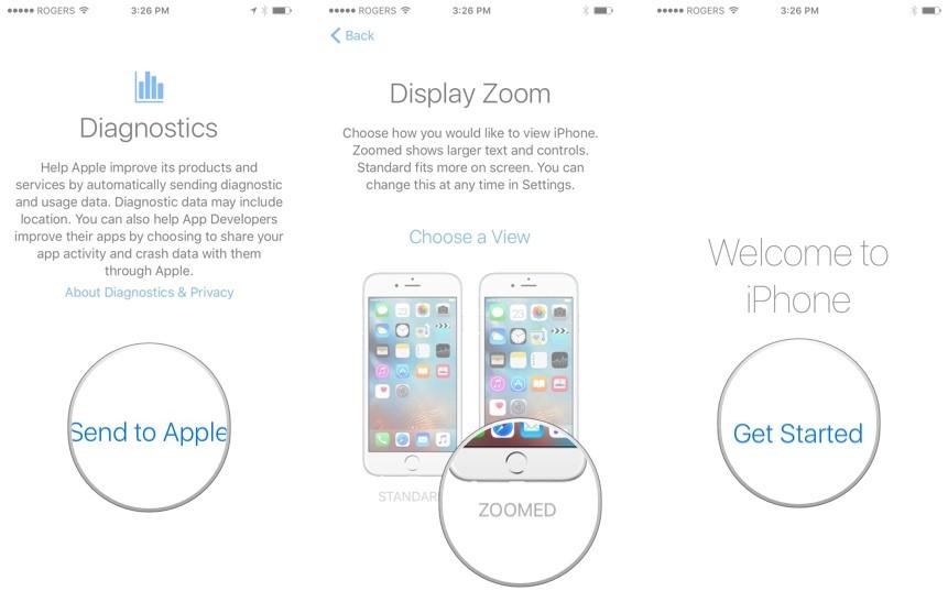 Touch ID'li iPhone ve iPad