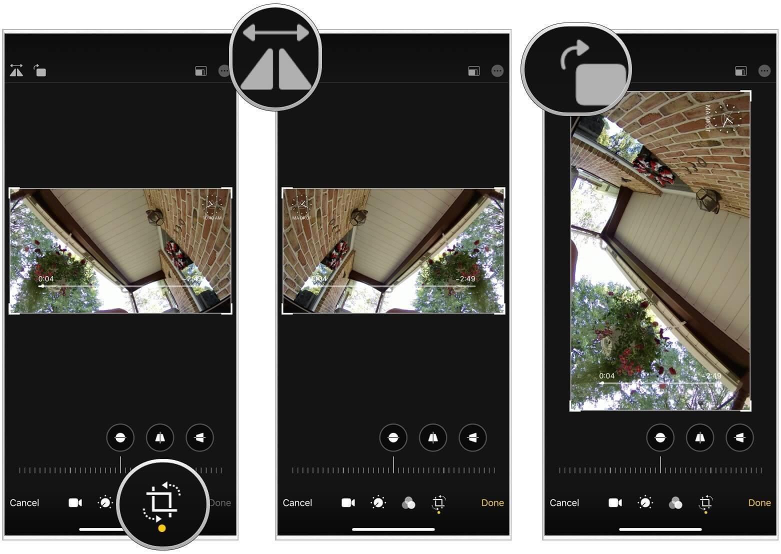 iOS 13 video düzenleme