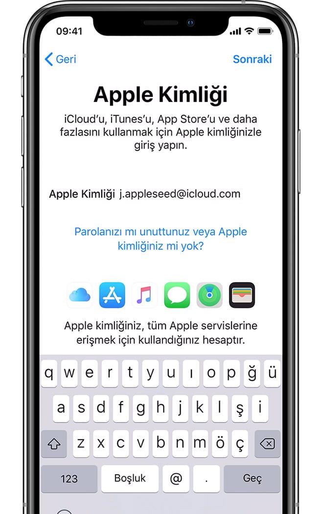 iPhone 11 ilk kurulum