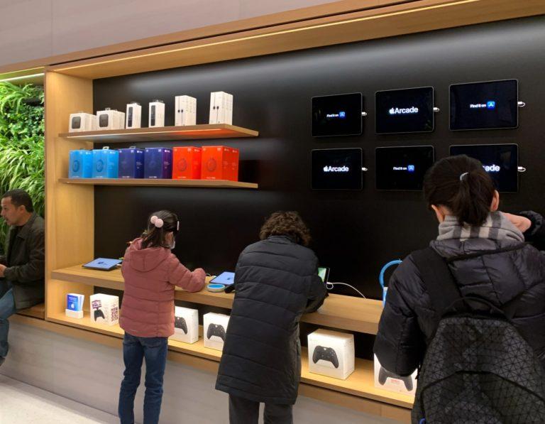 Apple Store Tasarımı Değişiyor
