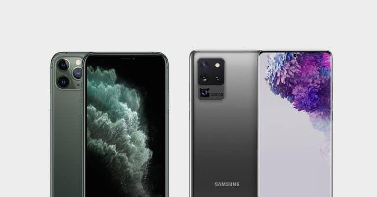 Galaxy S20 ultra vs iPhone 11 Pro Max Karşılaştırma