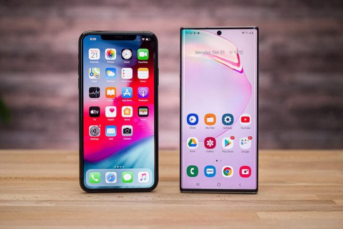 iPhone 11 ve Galaxy Note 10