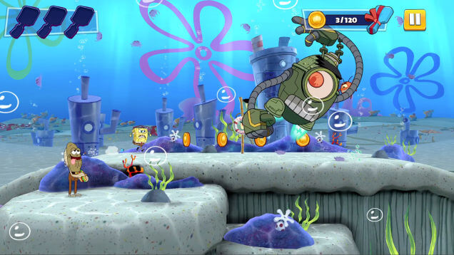 SpongeBob Patty Pursuit