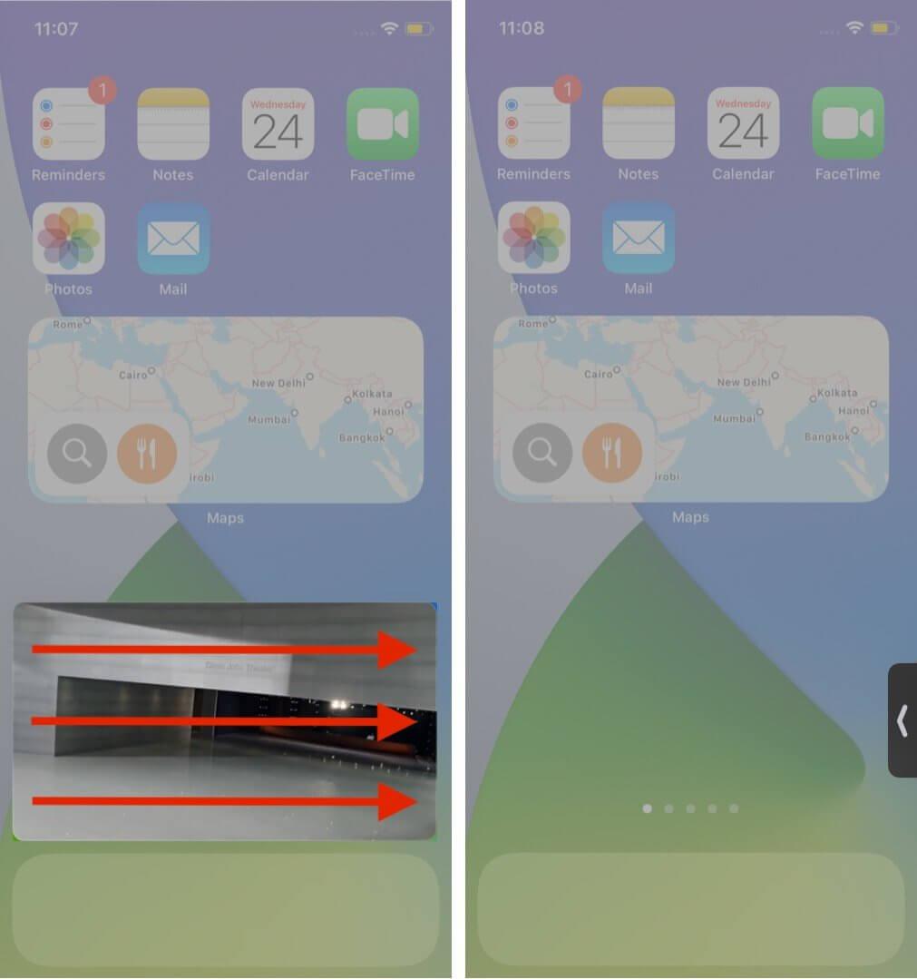 iPhone Resim icinde Resim
