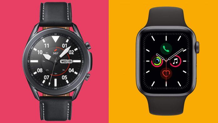 Galaxy Watch 3 vs Apple Watch 5