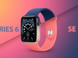 Apple Watch Series 6 ve Watch SE