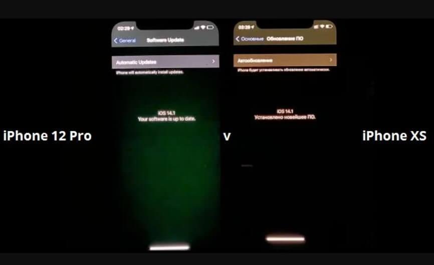 iPhone 12 Pro yeşil ekran sorunu