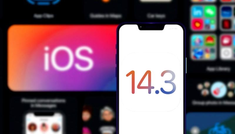 iOS 14.3 güncellemesi