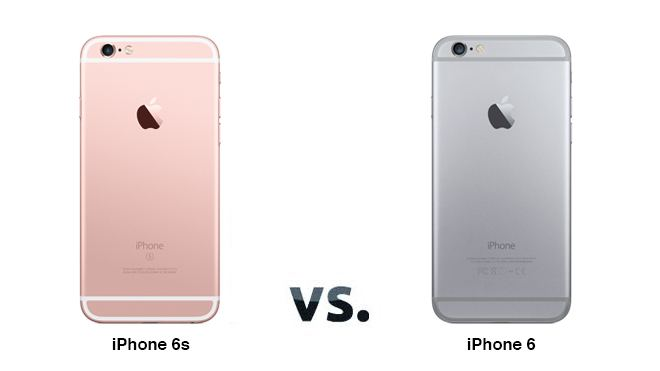 iPhone 6 ve iPhone 6s
