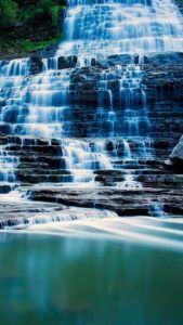 Albion Falls Ontario Canada iPhone 6 Wallpaper
