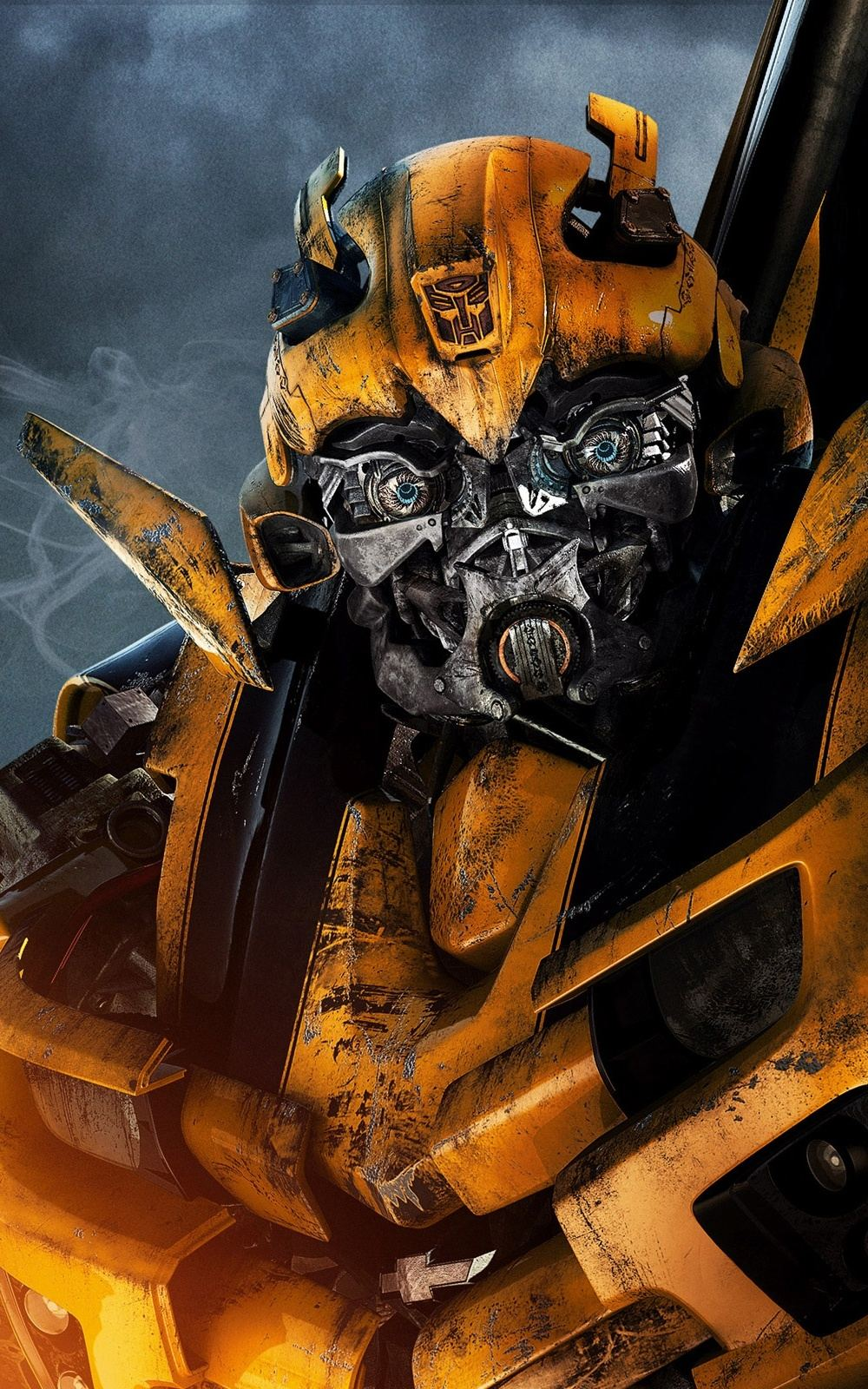 Bumblebee Transformers Lockscreen iPhone 6 Plus HD Wallpaper