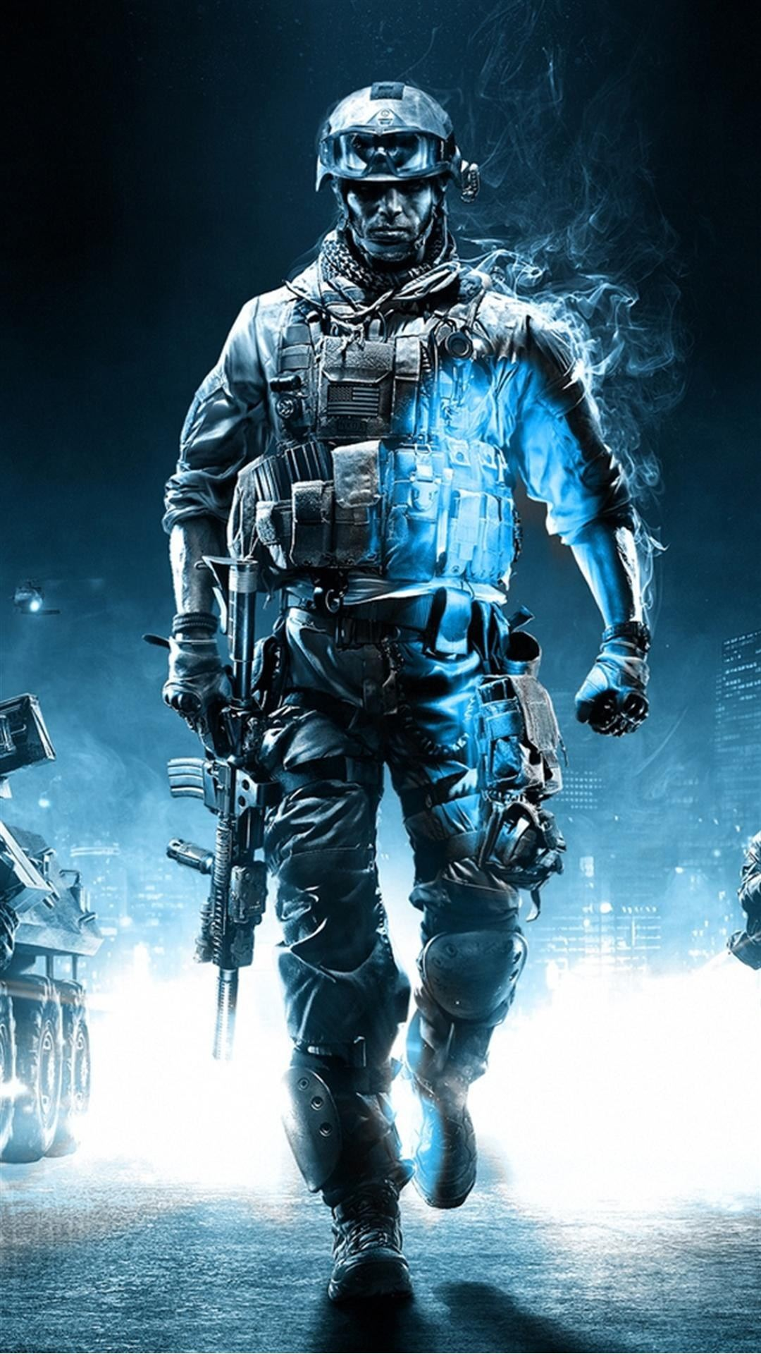 Call Of Duty Ghosts Soldier iPhone 6 Plus HD Wallpaper