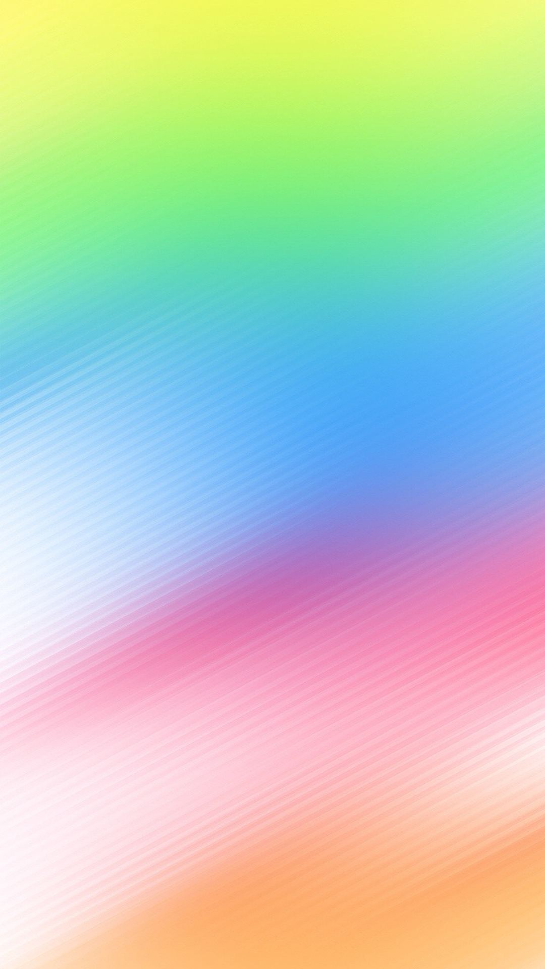 Colorful iOS 8 Stock iPhone 6 Plus HD Wallpaper