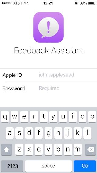 Feedback-Assitant-Sign-in