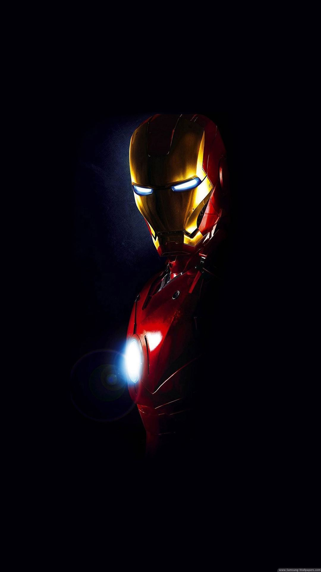 Iron Man Arc Reactor Glow Iphone 6 Plus Hd Wallpaper