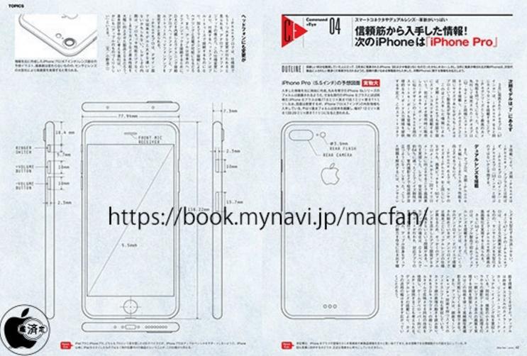 iPhone 7 Pro Tasarım Detayları