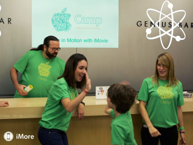 Apple Çocukları İçin Çalışıyor